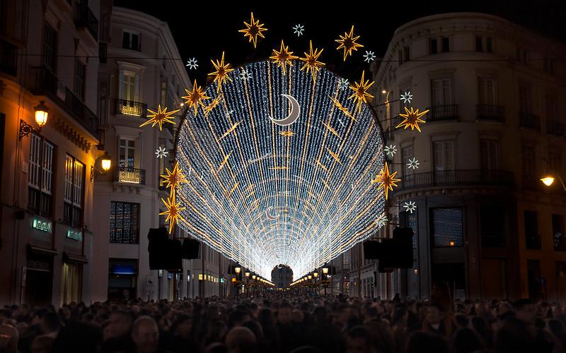 Malaga at Christmas